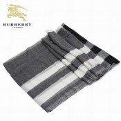 Burberry Echarpe Cachemire Foulard Rayures Portefeuille