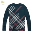 Burberry Blanc T Shirt Homme Serigraphie Col Rond Manches Longue Porte Feuille