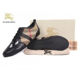 Burberry Basket Basses Marron Lacets Chaussure Femme Outlet Online