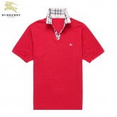 Burberry 2017 Rouge Polo Uni T Shirt Homme Manches Courte Boutique Paris