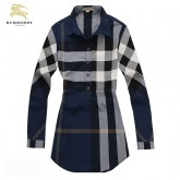 Burberry Manches Longue Chemise Femme Multicolor Trench Prix
