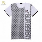 Burberry Manches Courte Gris Col Rond T Shirt Homme Magasin France