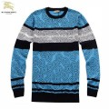 Burberry Col Rond Manches Longue Pullover Pull Homme Outlet