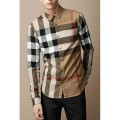 Burberry Manches Longue Chemise Homme Galeries Lafayette