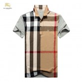 Burberry Polo Rayures T Shirt Homme Manches Courte Parfum Brit