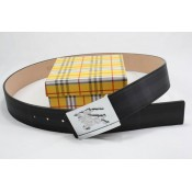 Burberry Noir Ceinture reversible Ceinture Uni Outlet Paris