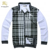 Burberry Col Montant Veste Homme Sweat Boutons Manches Longues Neiman Marcus