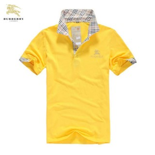 Burberry Polo Jaune T Shirt Homme Manches Courte Online Shop