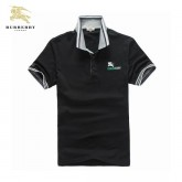 Burberry Polo T Shirt Homme Noir Manches Courte Uni Factory Outlet