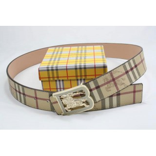 Burberry Casual Ceinture Beige Ceinture reversible Boutique Paris
