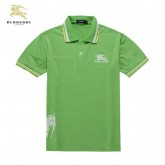 Burberry Polo T Shirt Homme Manches Courte Vert Prix Foulard