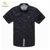 Burberry Manches Courte Noir Chemise Homme Ballerines