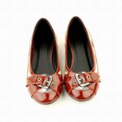 Burberry Mocassin Ballerines Chaussure Femme Gris Carreaux Trench Occasion