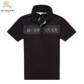 Burberry Manches Courte T Shirt Homme Polo Marron Maquillage