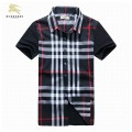 Burberry Rouge Chemise Homme Manches Courte Magasin Paris