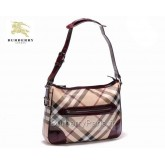 Burberry Rouge Sac Femme Sacs Tote Carreaux Vente Privee