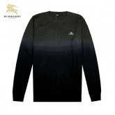 Burberry Col Rond Pullover Noir Pull Homme Manches Longue Soldes Londres