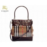 Burberry Sacs Tote Noir Sac Femme House Check Fragrance