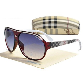Burberry Lunettes Rouge Cerclee Enveloppante Trench Prix