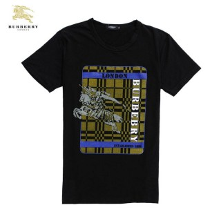 Burberry Impression Graphique Col Rond Manches Courte T Shirt Homme Multicolor Outlet Londres