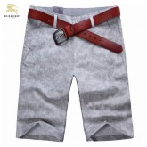 Burberry Uni Short Pantalon Homme Gris Chic Outlet Paris