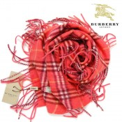Burberry Echarpe Rouge Magasin Lyon