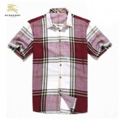 Burberry Manches Courte Chemise Homme Fragrance
