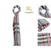 Burberry Gris Echarpe Carreaux France