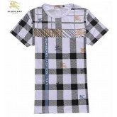 Burberry Manches Courte Gris Col Rond T Shirt Homme Montpellier