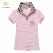 Burberry Rose Uni Polo T Shirt Femme Manches Courte Trench Prix