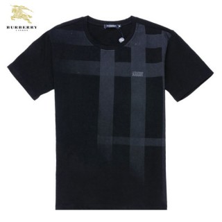 Burberry T Shirt Homme Manches Courte Col Rond Multicolor Impermeable