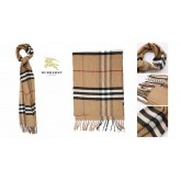Burberry Echarpe Rayures Marron Site Officiel