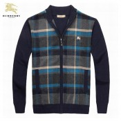 Burberry Jaune Manches Longue Col Montant Pull Homme Cardigans Outlet Store Online