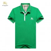 Burberry Manches Courte Uni Polo Vert T Shirt Homme Magasin Marseille