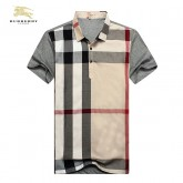 Burberry Polo Manches Courte Beige T Shirt Homme Boutique Paris