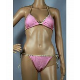 Burberry Uni Maillot bain Bikini Rose Boutique Marseille