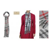 Burberry Gris Cachemire Echarpe Trench Soldes