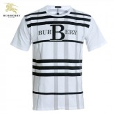 Burberry La T Shirt Homme Noir Col Rond Manches Courte Official Website
