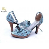 Burberry Bleu Chaussure Femme Trench Soldes