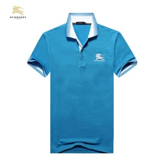 Burberry Bleu T Shirt Homme Manches Courte Polo Montpellier