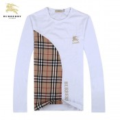 Burberry Col Rond Manches Longue T Shirt Homme Impermeable