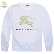 Burberry Col Rond Veste Homme Manches Longues Sweat Blanc Ballerines