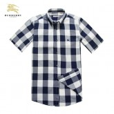 Burberry Manches Courte Blanc Chemise Homme Boutique Lille