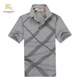 Burberry Manches Courte T Shirt Homme Polo Magasin Bordeaux