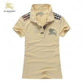 Burberry Polo T Shirt Femme Manches Courte Foulard Style