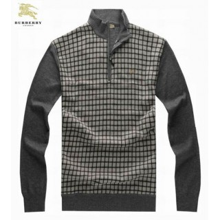 Burberry Pull Homme Manches Longue Blanc Pullover Recrutement