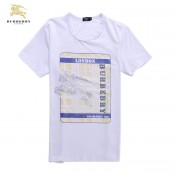 Burberry T Shirt Homme Blanc Manches Courte Col Rond Outlet Store Online