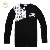Burberry T Shirt Homme Manches Longue Col Rond Online
