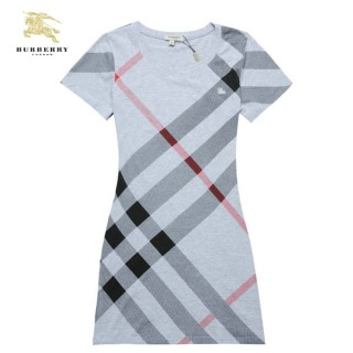 Burberry Tunique T Shirt Femme Col Rond Gris Trench Occasion