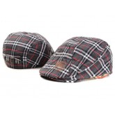 Burberry Casquette Rouge Berets Plate Montpellier